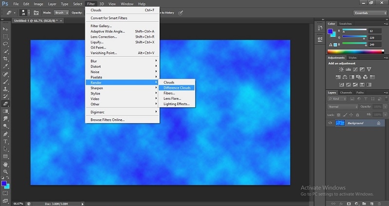 Filters in Photoshop 1-14