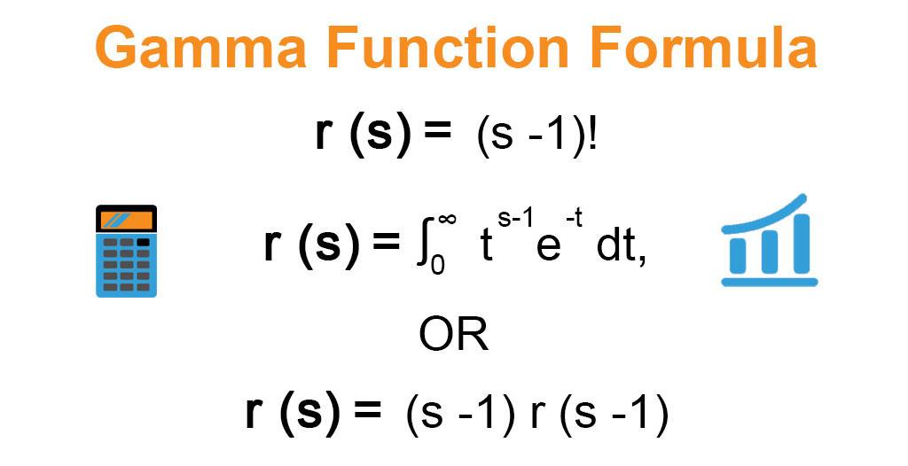 Gamma Function Formula