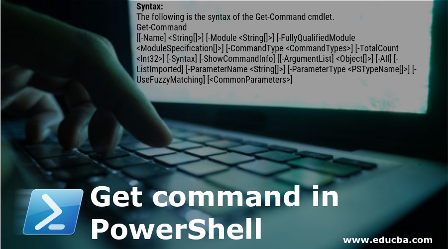 Get-command-in-PowerShell