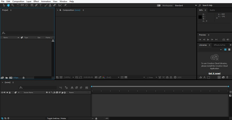Group Layers in After Effects 1-1