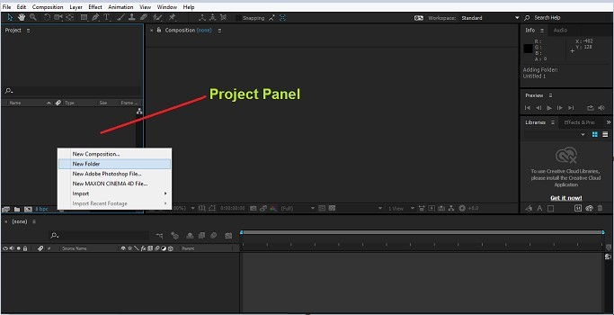 Group Layers in After Effects 1-3