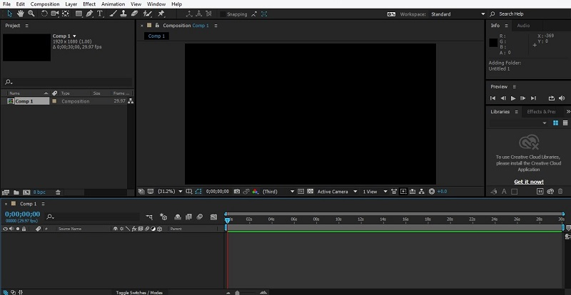 Group Layers in After Effects 1-5
