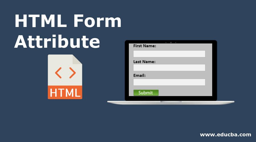 attribute for Html form element