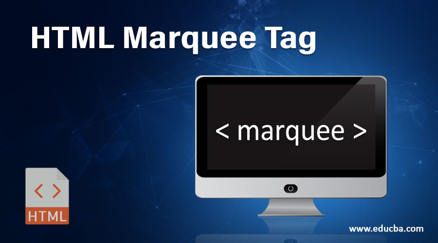 HTML Marquee Tag