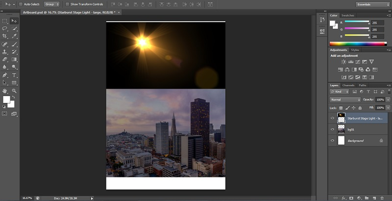 How to Blend Images in Photoshop - 1.10