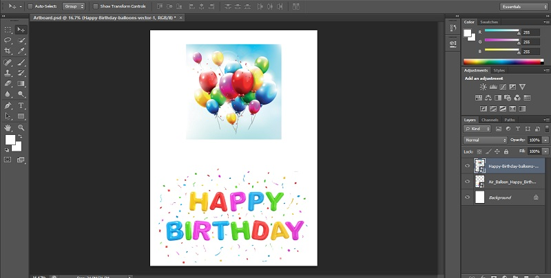 How to Blend Images in Photoshop - 1.3