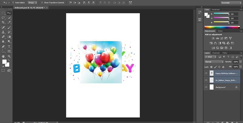 How to Blend Images in Photoshop - 1.5