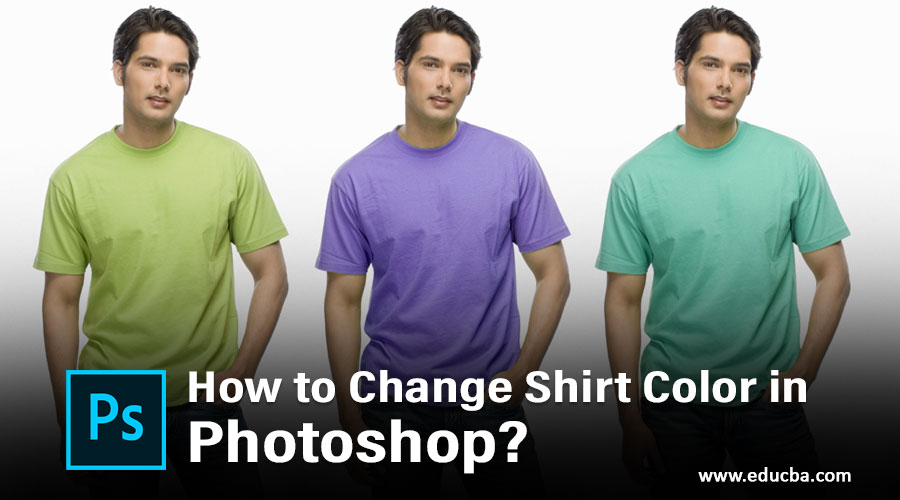 How to Change Shirt Color in Photoshop