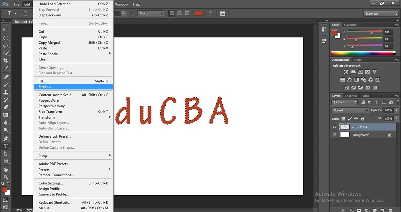 How to Change Text Color in Photoshop 1-20