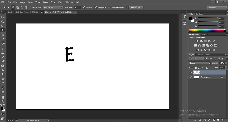 How to Change Text Color in Photoshop 1-42