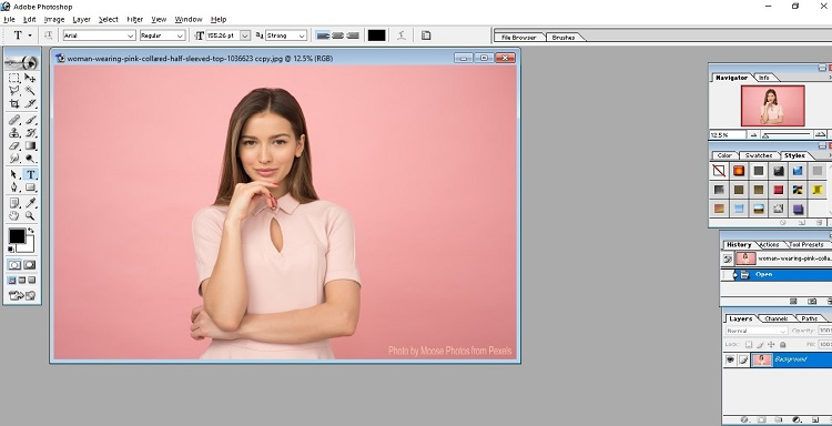 How to Fill Color in Photoshop 2