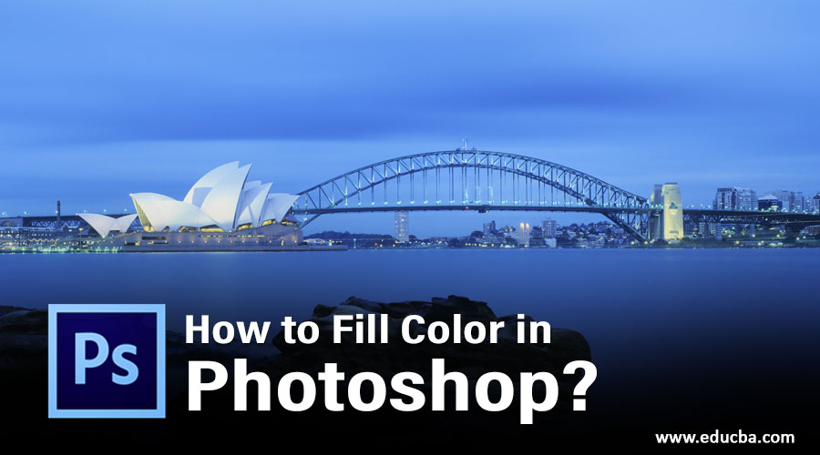 How to Fill Color in Photoshop