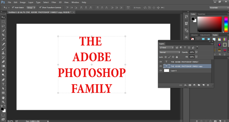 How to Highlight Text in Photoshop -10