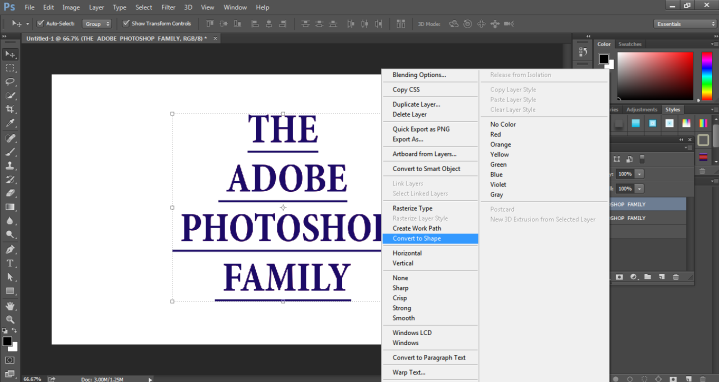 How to Highlight Text in Photoshop -14