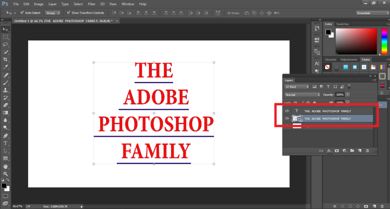 How to Highlight Text in Photoshop -16