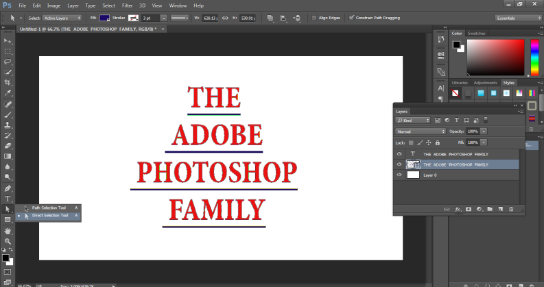How to Highlight Text in Photoshop -17