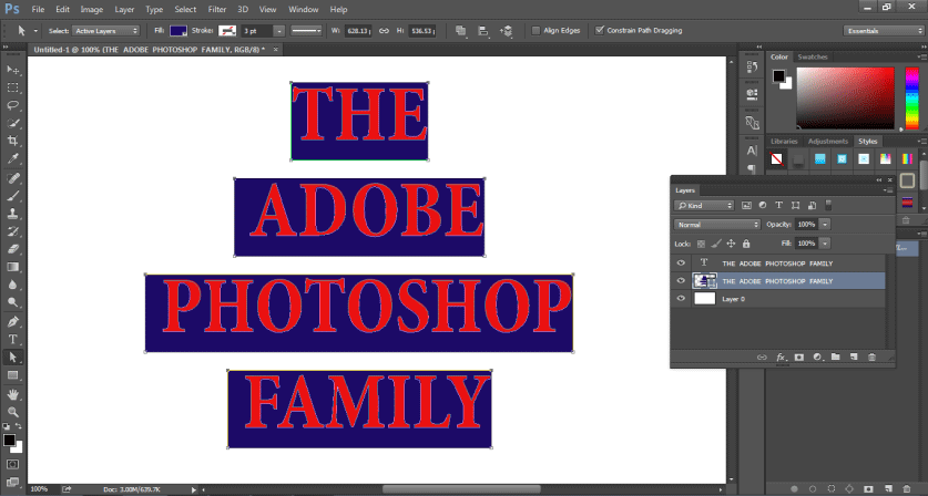 How to Highlight Text in Photoshop -18