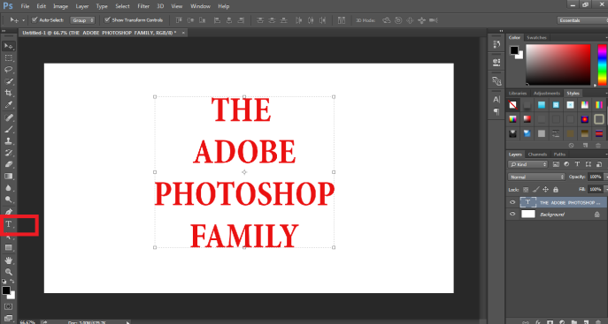 How to Highlight Text in Photoshop -9