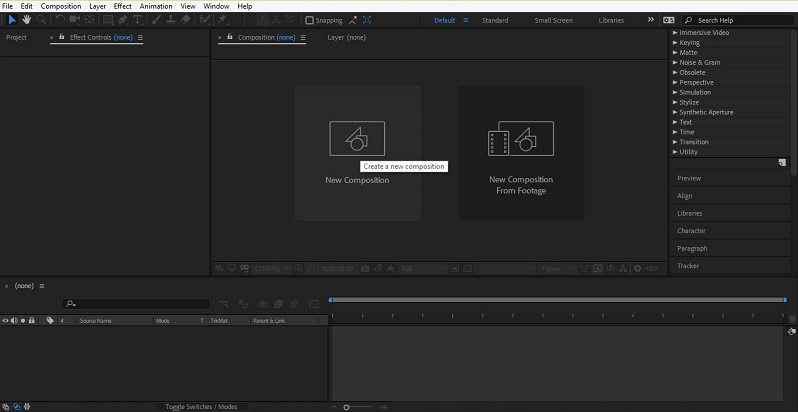 How to Use After Effects 1-2