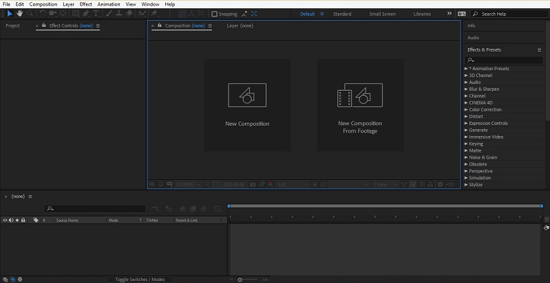 How to Use After Effects 1-4