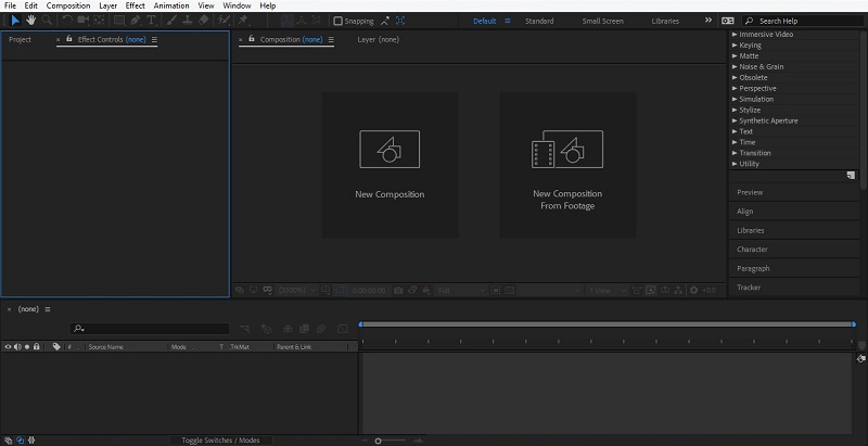 How to Use After Effects 1-5