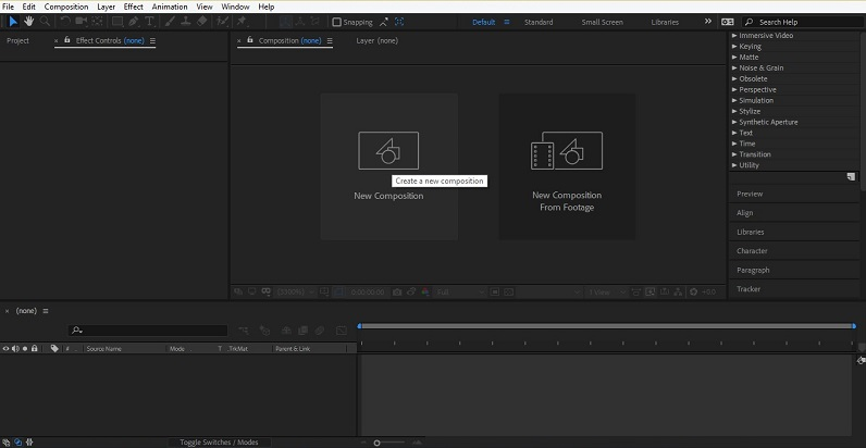 How to Use After Effects 1-8