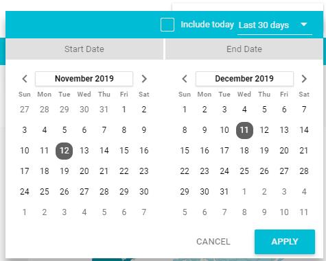 Date Range & Filters