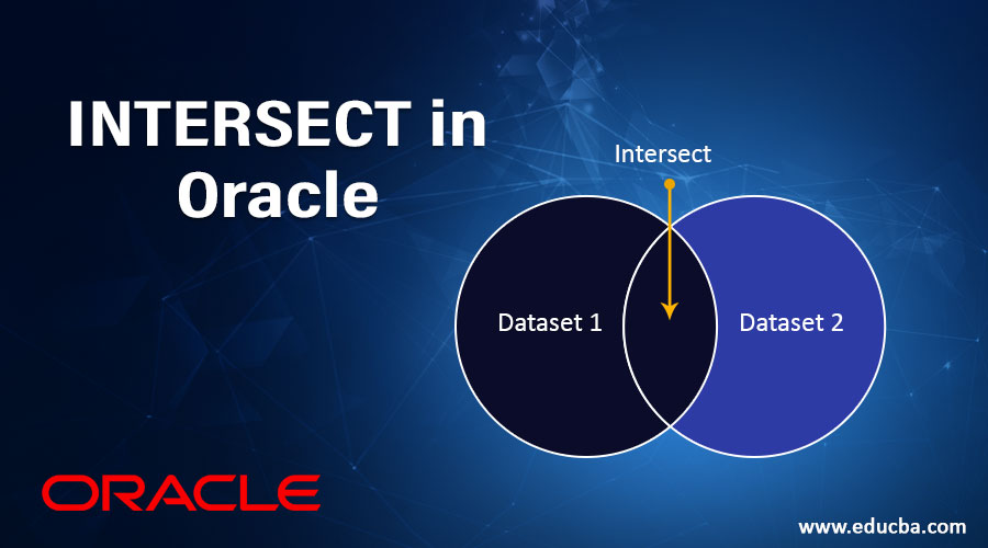 INTERSECT in Oracle