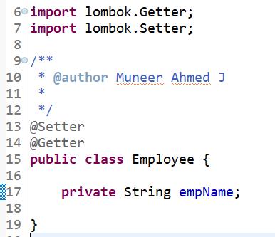Creating Application Context