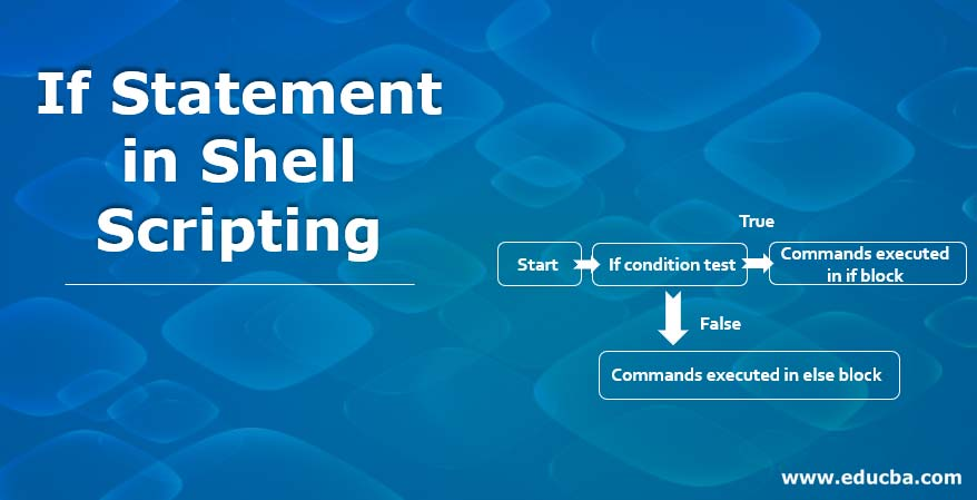 If Statement in Shell Scripting
