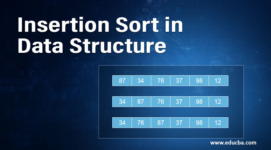 Insertion Sort in Data Structure