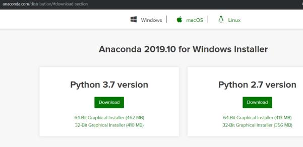 Install Anaconda Python eg1