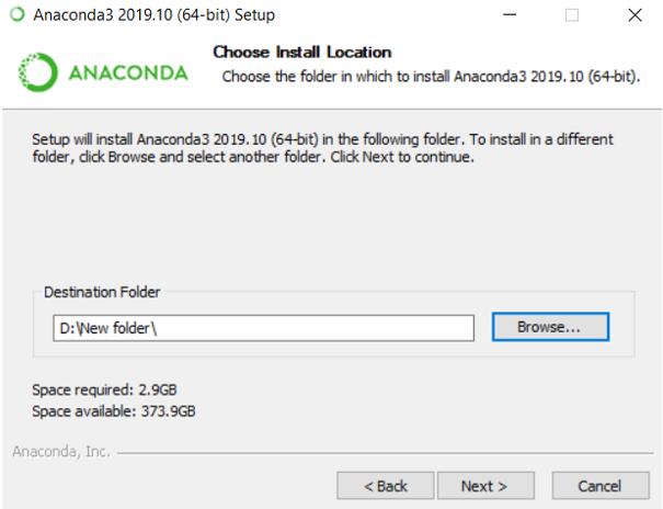 Install Anaconda Python eg8