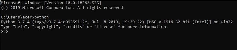 Install NumPy 1-4