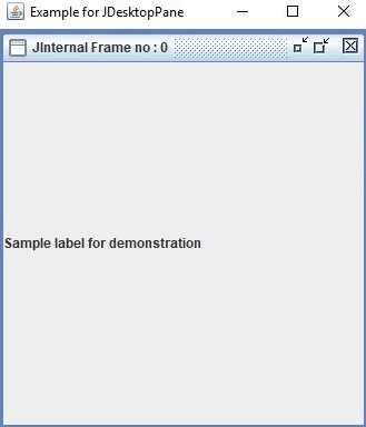 JDesktopPane 1-2