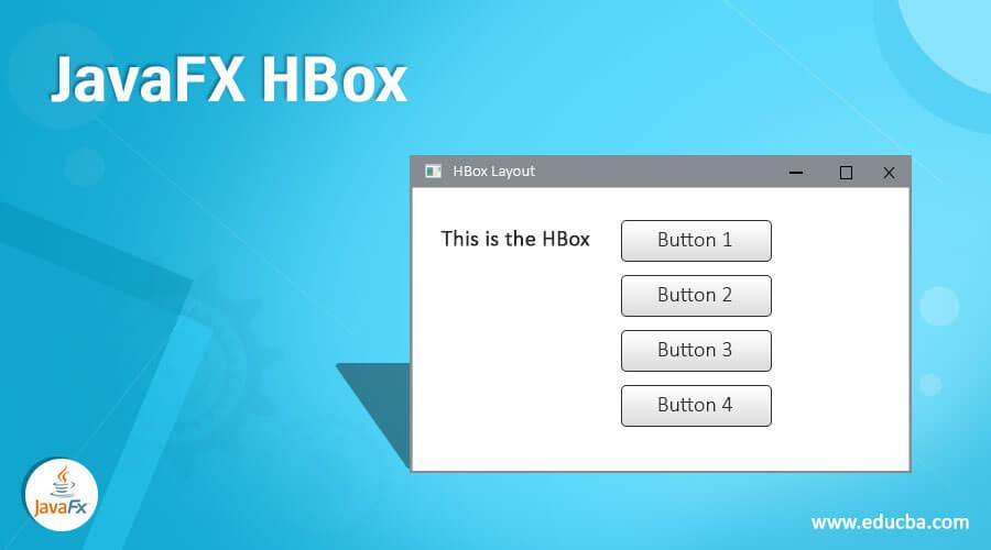 JavaFX HBox