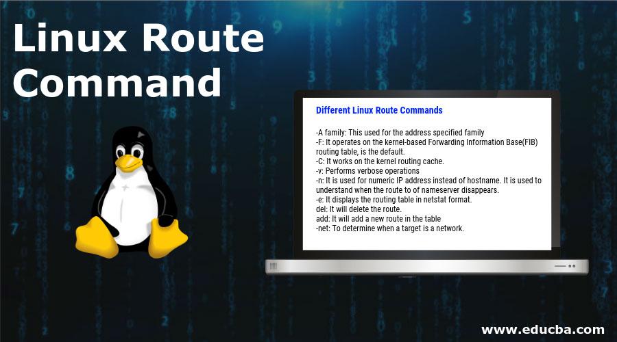 Linux-route-command