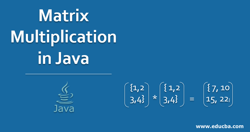Matrix Multiplication in Java