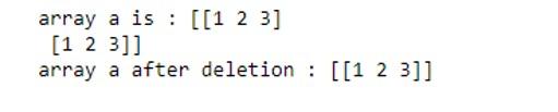 NumPy Array Function 1-10