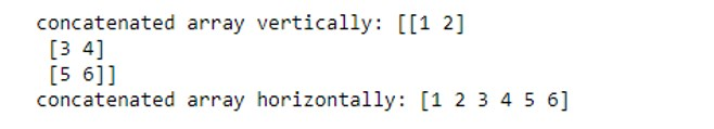 NumPy Array Function 1-7