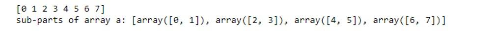 NumPy Array Function 1-8