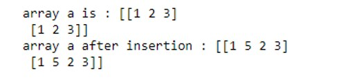 NumPy Array Function 1-9