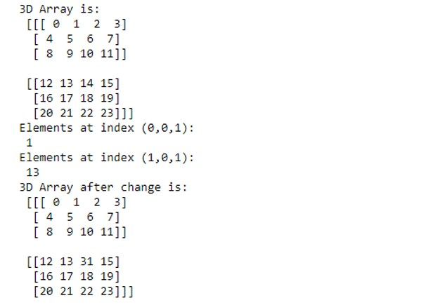 NumPy Arrays 1-5