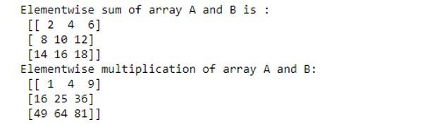 NumPy Arrays 1-6