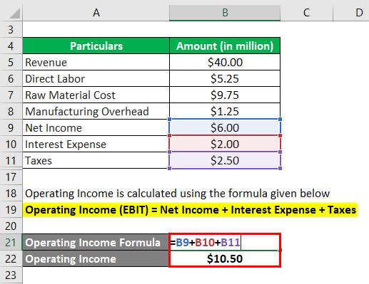 Operating Expense Formula-2.3