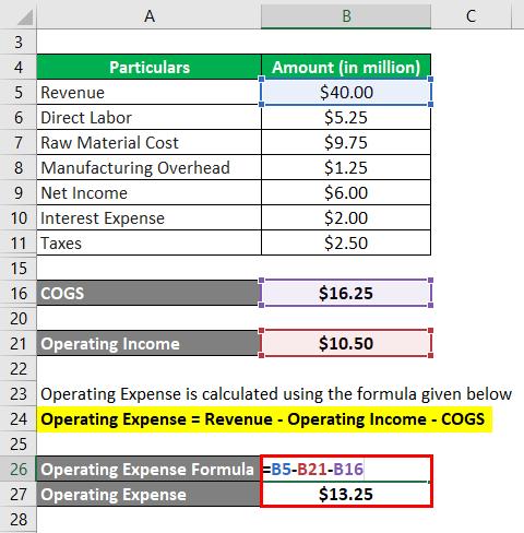 Operating Expense Formula-2.4