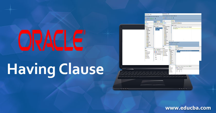Oracle Having Clause