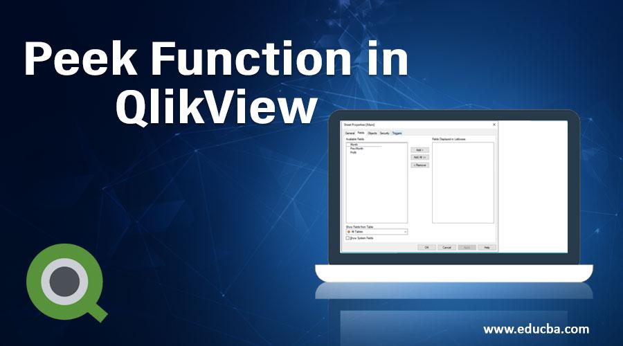 Peek Function in QlikView