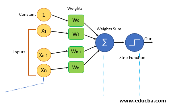 Perceptron Algorithm Block Diagram