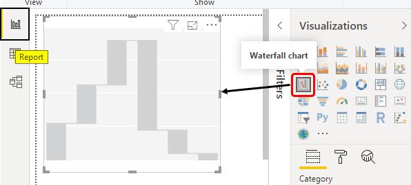 Power BI Waterfall Chart Example 1-14
